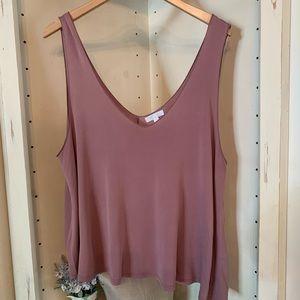 Abound Blush Pink top size XL